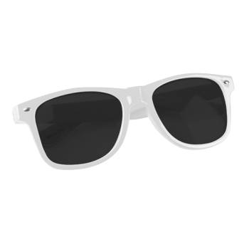LOW iS A LiFESTYLE® Statement Sonnenbrille - weiß