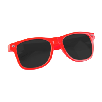 LOW iS A LiFESTYLE® Statement Sonnenbrille - rot