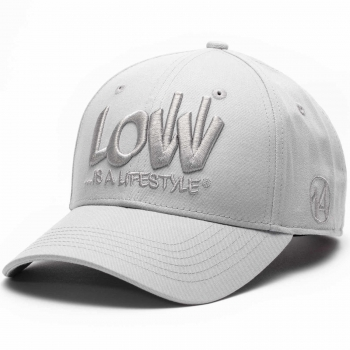 LOW iS A LiFESTYLE® Statement Basecap - Grey