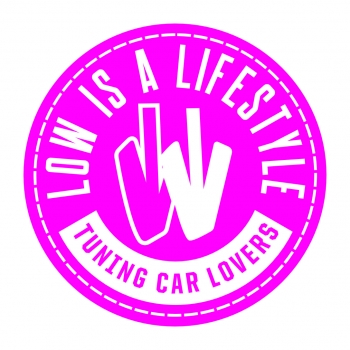LOW iS A LiFESTYLE® Air Freshener - Tuning Car Lovers - Pink