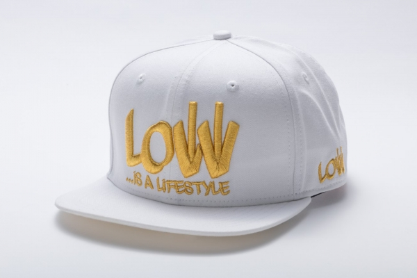LOW iS A LiFESTYLE® Statement Snapback - Gold-White