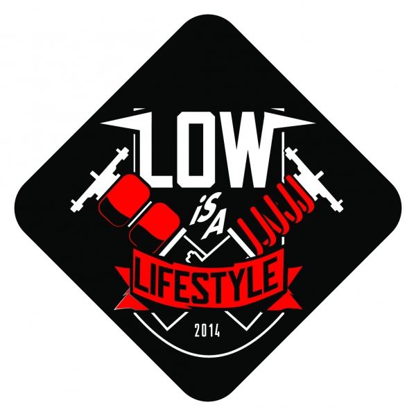 "LOW iS A LiFESTYLE® Air Freshener - ""LiAL Statement"" Red"