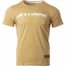LOW iS A LiFESTYLE® Statement T-Shirt - Brown