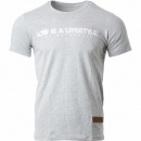 LOW iS A LiFESTYLE® Statement T-Shirt - Grey