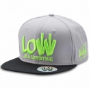 LOW iS A LiFESTYLE® Statement Snapback - Neongrün